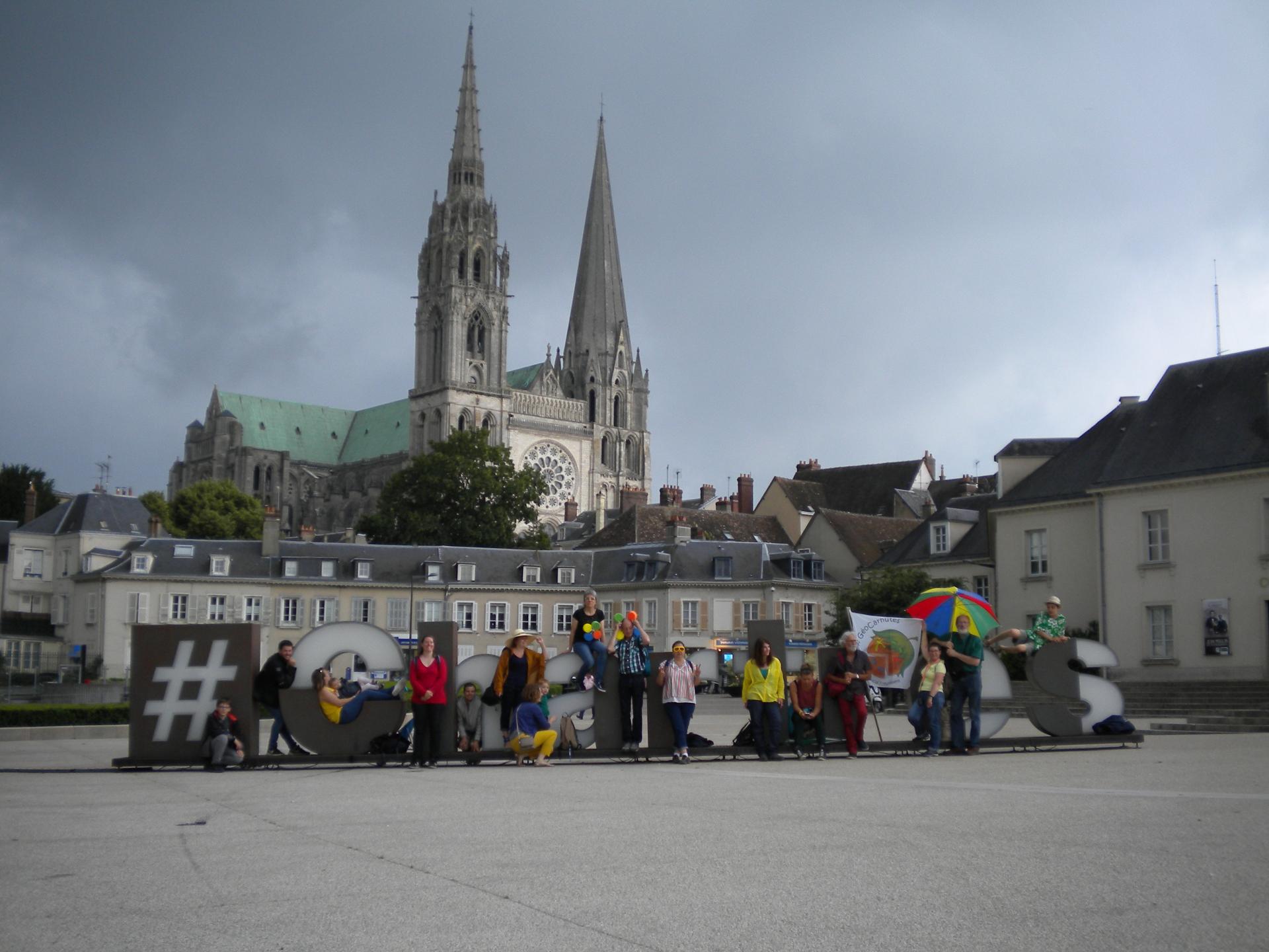 Et ainsi Les géocarnutes conquirent Chartres ^^